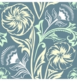 Ethnic Floral Seamless Pattern8 vector image