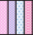 geometric patterns in pastel vector image vector image