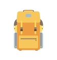 Hiking backpack vector image