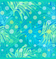 ink hand drawn jungle seamless pattern vector image vector image