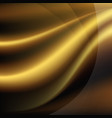 luxury golden background vector image vector image