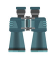 mechanic binoculars with big zoom in mate corpus vector image