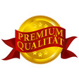 premium quality seal german version vector image vector image