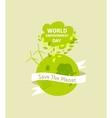 World environment day Green vector image vector image
