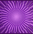 comic bright purple background vector image vector image