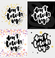 don t touch me - slogan vector image