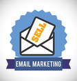 Email design vector image vector image
