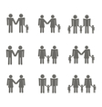 set with Gays icons vector image vector image