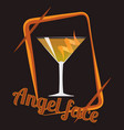 angel face cocktail vector image