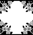 background decoration flowers vector image