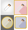 repair tools flat icons 05 vector image