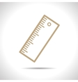 ruler outline icon Eps10 vector image