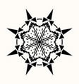 sacred geometry 0093 vector image vector image