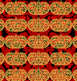 Seamless asian art pattern abstract background vector image vector image