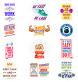 running marathon logo badge emblems lmotivation vector image