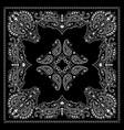 bandana decorative ornament vector image vector image