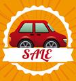 Car Sale design vector image vector image