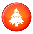 Coniferous tree icon flat style vector image vector image