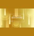 design of modern golden background vector image vector image