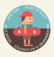 emblem for skateboard club vector image vector image