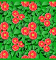flower seamless pattern backround 3d elements vector image vector image