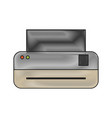 printer machine icon vector image vector image