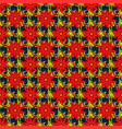 soft tile vintage flowery pattern frourish vector image vector image