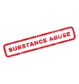 Substance Abuse Rubber Stamp vector image vector image