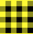 tartan pattern scottish cage scottish yellow vector image