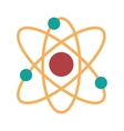 Atom molecule isolated icon design vector image