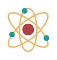 Atom molecule isolated icon design vector image vector image