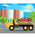 construction machinery and bilding vector image