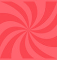 geometric spiral background - from twisted rays vector image vector image
