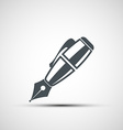 icons pen vector image