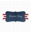 Patriot Day Background Template vector image vector image