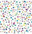 confetti background vector image