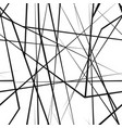 chaotic random lines seamless texture vector image vector image