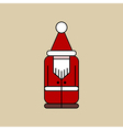 Christmas Elf Icon vector image vector image