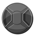 Cover on lens camera icon gray monochrome style vector image vector image