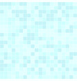 cyan square pattern seamless vector image vector image