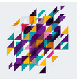 diagonal abstract background geometric element vector image vector image
