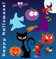 Funny halloween vector | Price: 3 Credits (USD $3)