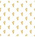 Harp pattern cartoon style vector image vector image