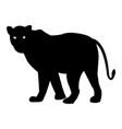 laperd silhouette icon eps vector image