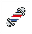 barbershop element icon on white vector image vector image