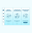 employee training advantages onboarding template vector image vector image