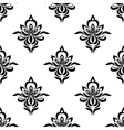 Retro floral seamless pattern with elegance vector image vector image