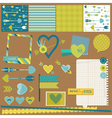 Scrapbook design elements - love heart and arrows vector | Price: 1 Credit (USD $1)