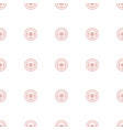 wheel icon pattern seamless white background vector image vector image