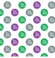 wifi icon background vector image vector image